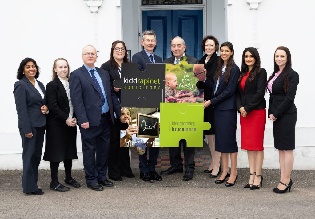 Bruce Lance Solicitors join Kidd Rapinet