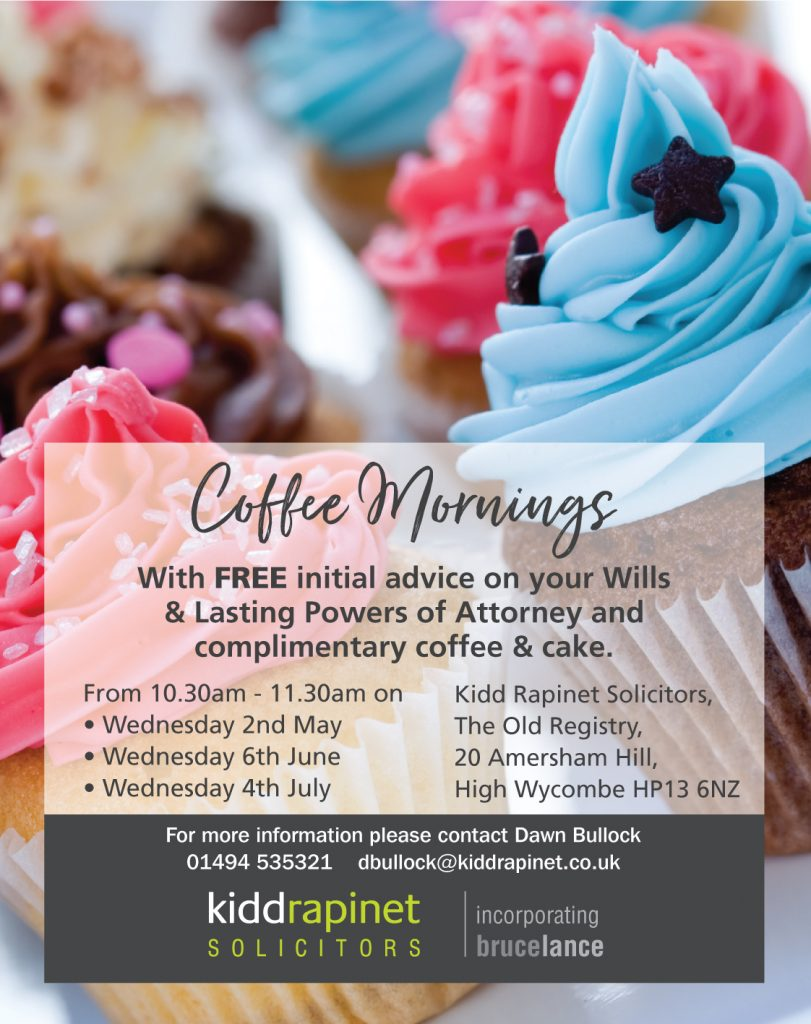 FREE advice on wills and lasting powers of attorney