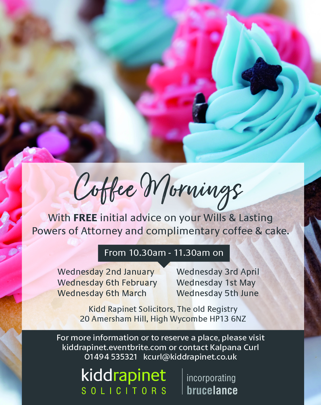 5th June FREE Wills and LPA Coffee Morning