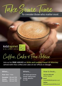 coffee morning at Kidd Rapinet Slough