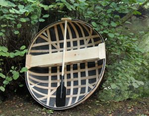 Sir Peter Badge's obsession - a coracle boat