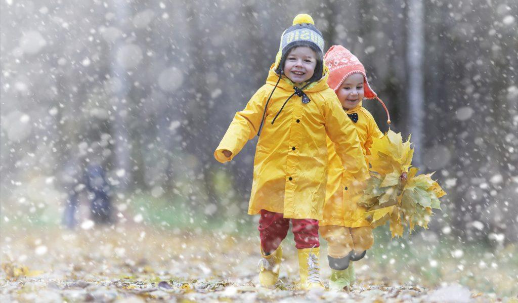 child arrangements - happy children