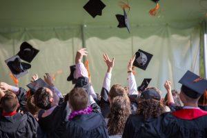International students graduating in the UK